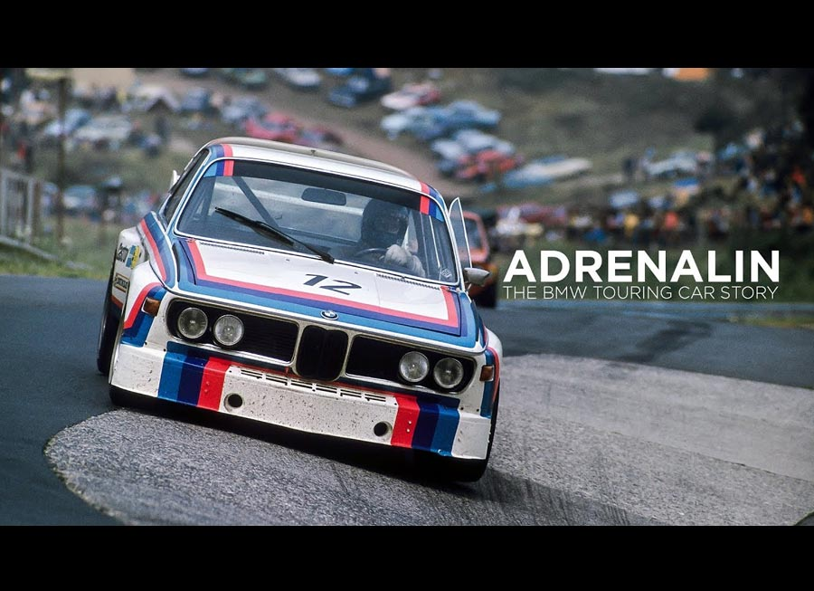 'ADRENALIN' tells the 50 year history how BMW became a legend in touring cars