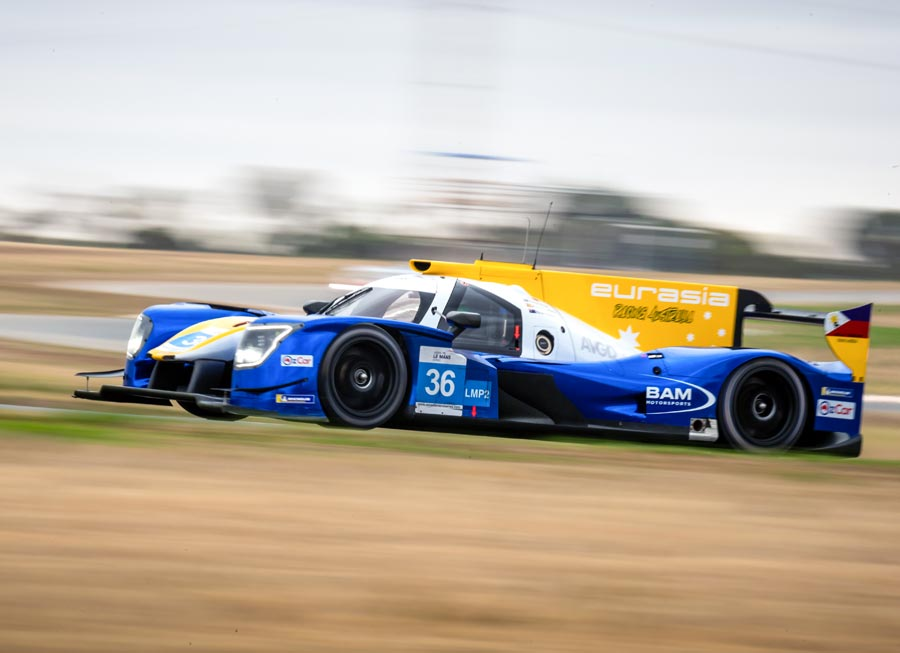 Eurasia Motorsport's podium at 4 Hrs of The Bend 'bittersweet' as second LMP2 retires