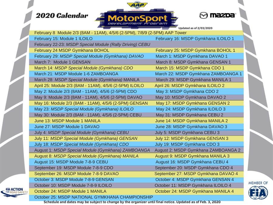 Motorsport Development Program