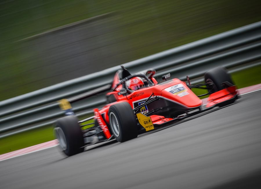 Sebastián Fernández joins Pinnacle Motorsport in F3 Asian C'ship for UAE rounds