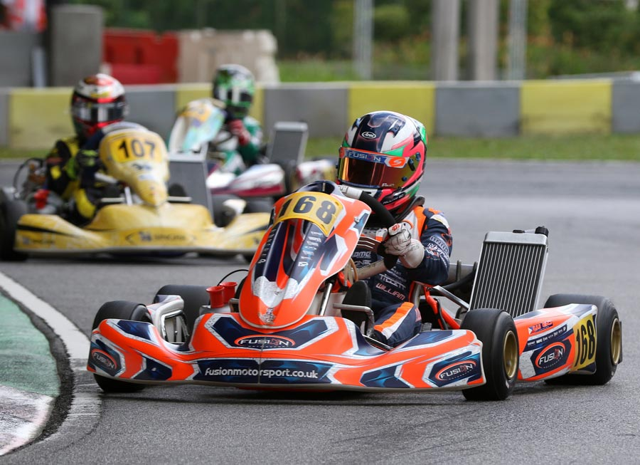 William Go untouchable at ROK Cup SG curtain raiser to take Junior GP win