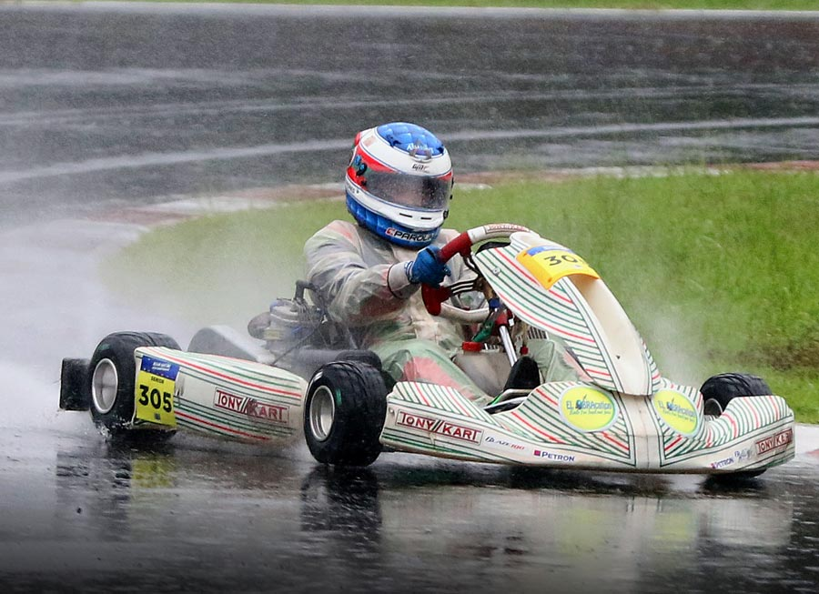 Miguel Quiñones pleased with strong results in rain-affected AKOC at Sentul