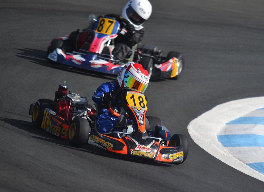 Axel Nocom snatches Formula Cadet win in epic photo finish at Carmona
