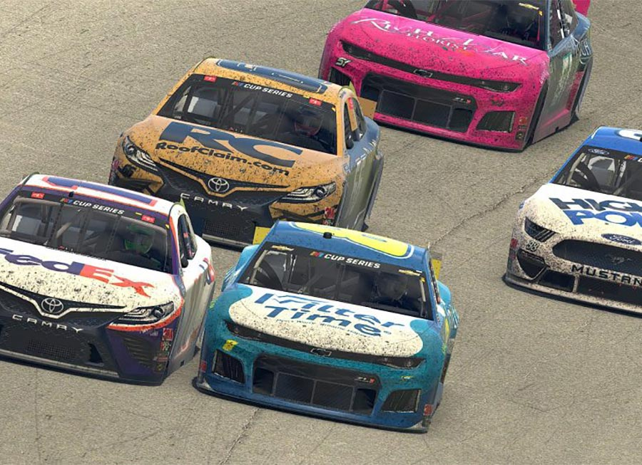 What 'lockdown events' reveal on the 'Real Driver vs Sim Racer' argument