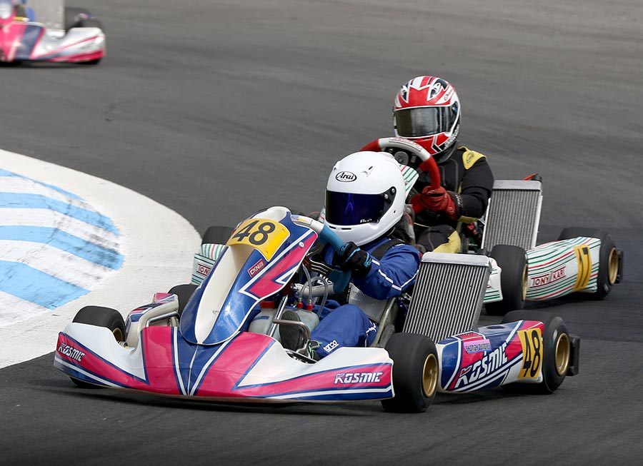Shasha Quiñones continues streak with IAME X30 Ph podium at Carmona