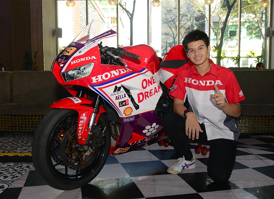 Troy Alberto to take on ARRC SS600 with Honda Ph and Access Plus Racing
