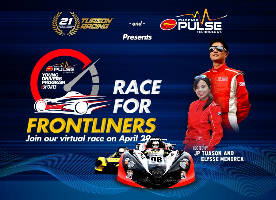 Tuason Racing & Phoenix Pulse continues to Race for Frontliners on April 29