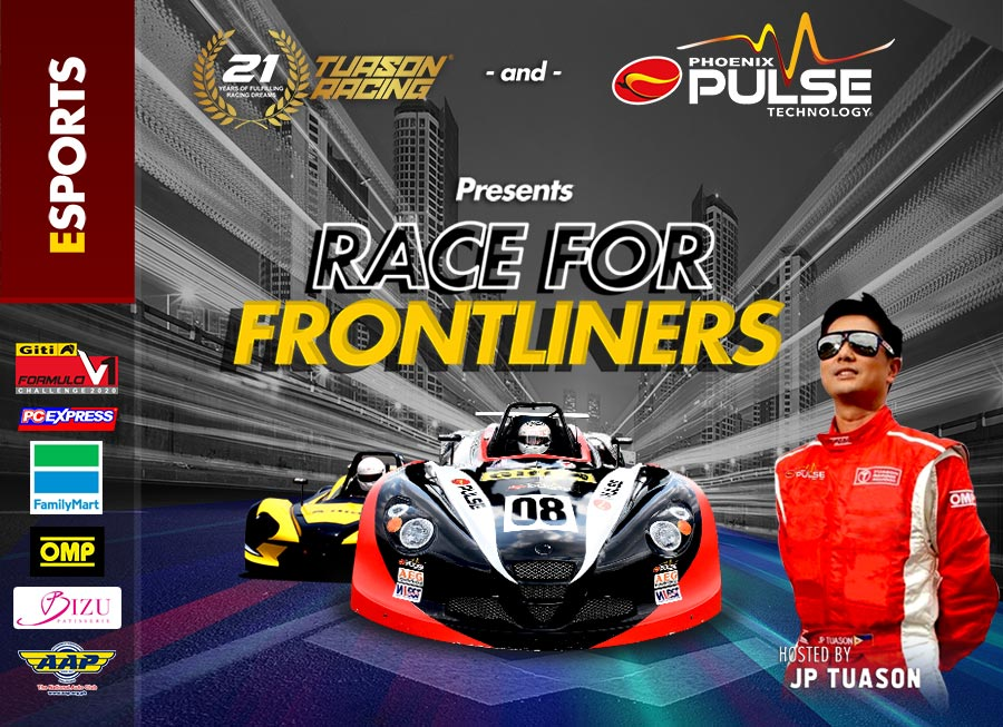 Tuason Racing & Phoenix Pulse form eSports series that donate meals to frontliners