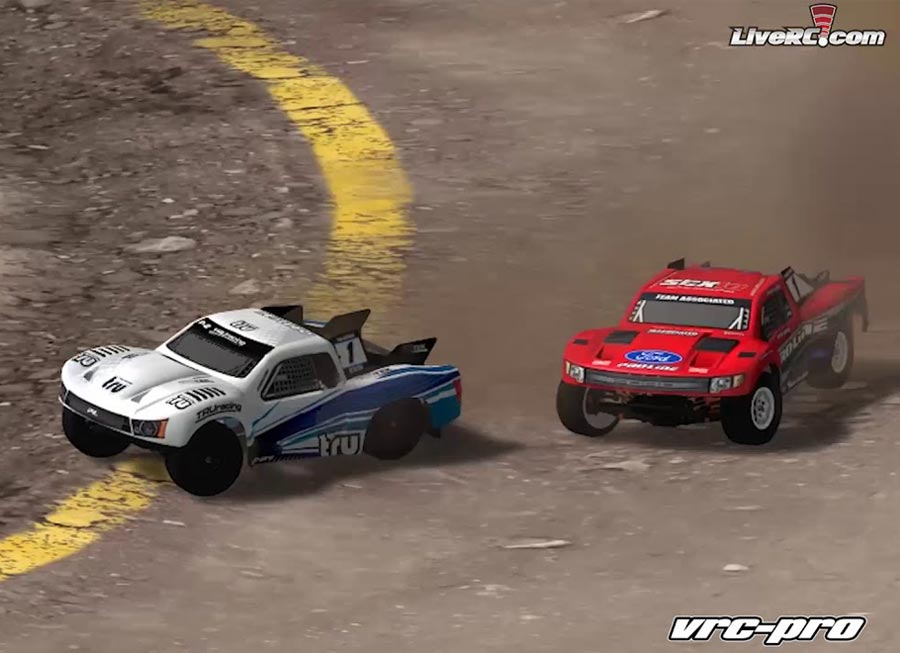 VRC Pro is the sim racing game counterpart for RC cars