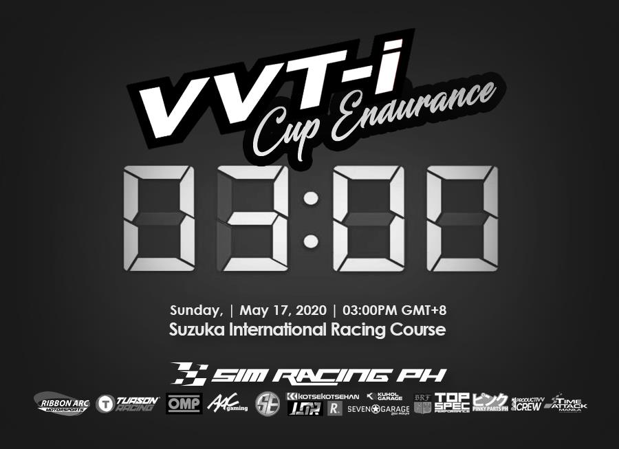 Sim Racing Ph open entries for first-ever VVT-i Cup 3 Hr Endurance