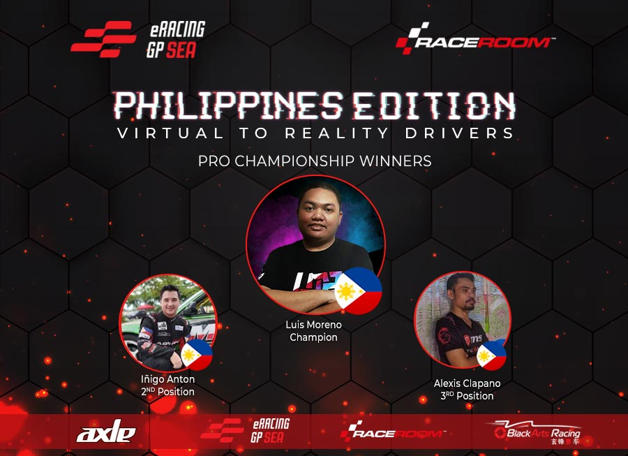 Moreno & Sayco share spoils in the ERacing GP SEA: Philippines Edition