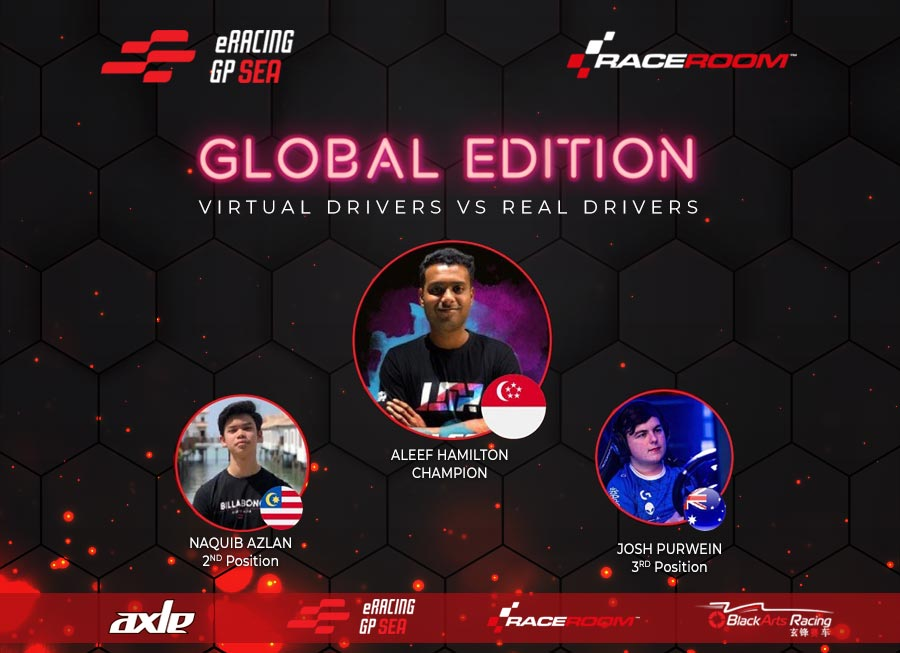 'Hamilton' is the first-ever ERacing GP SEA: Global Edition champion