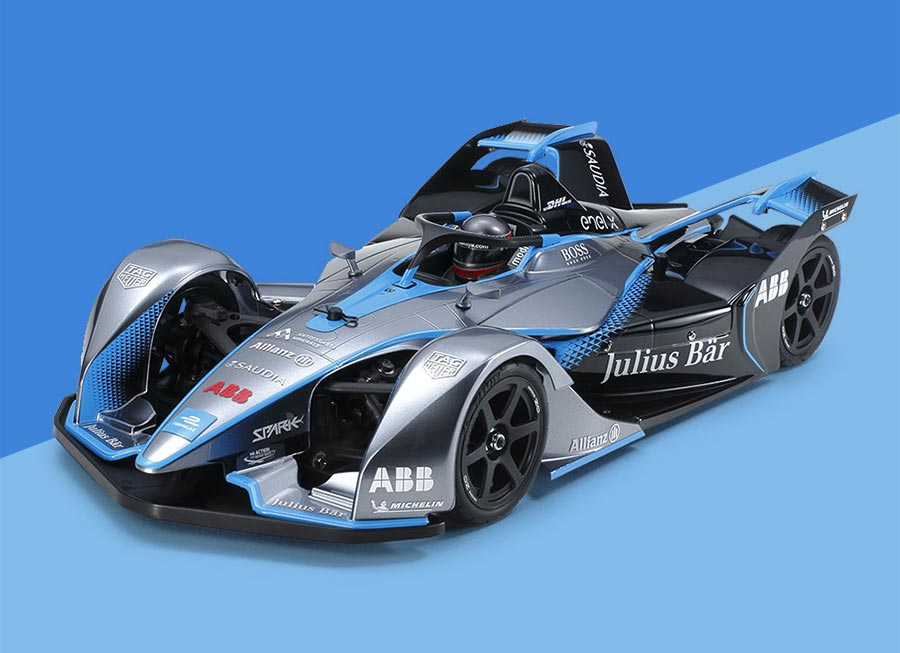 Of course Tamiya HAD TO make an electric Formula E radio-controlled car