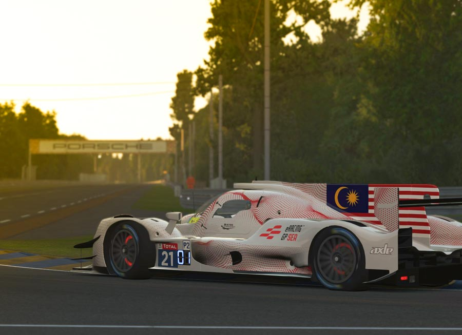 Alex and Alister Yoong teams up for virtual 24 Hours of Le Mans