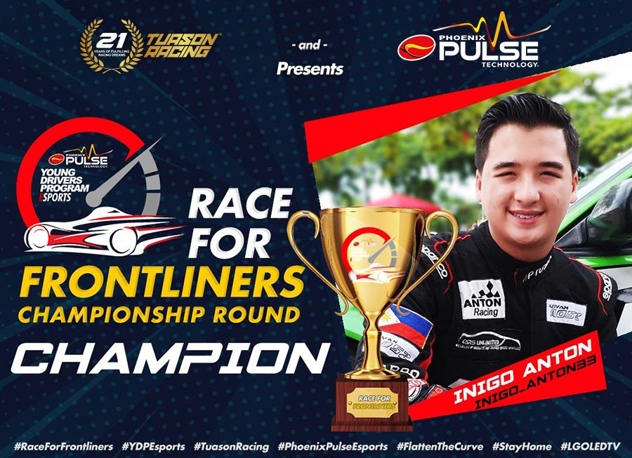 15-year-old Iñigo Anton hailed as Race for Frontliners overall champion