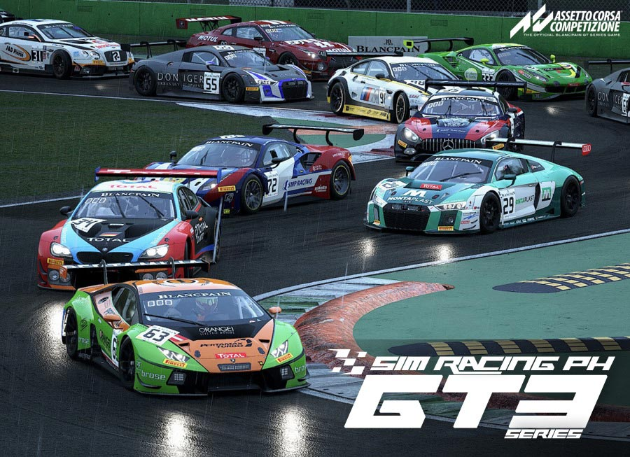 SRPh resumes online sim races with new GT3 Series