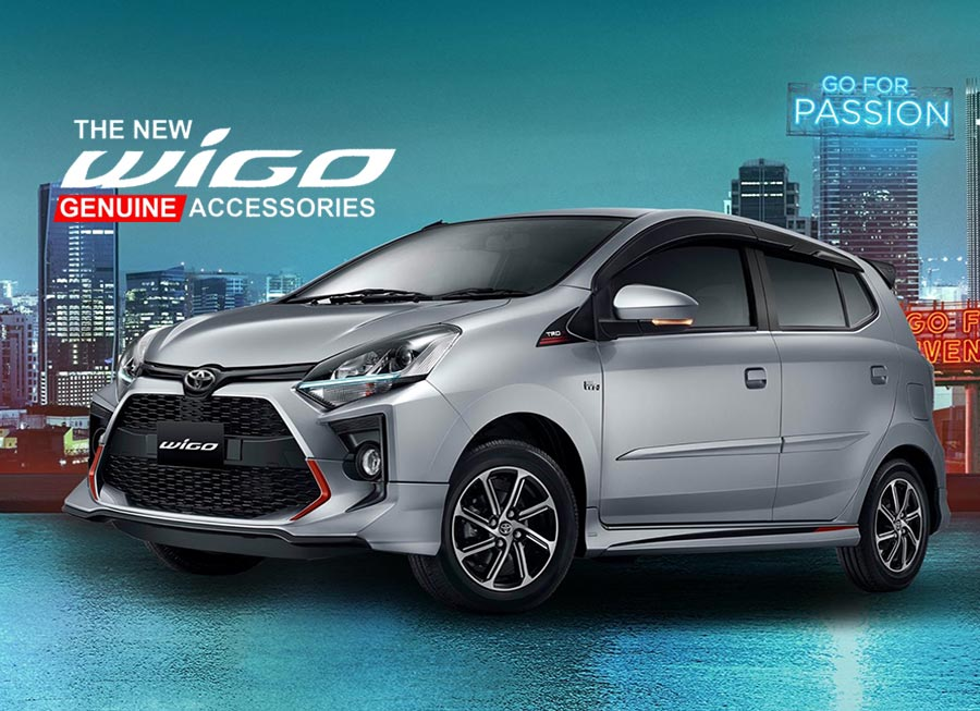 Check out the genuine accessories now available for the Toyota Wigo