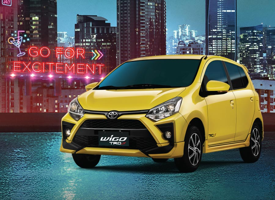 Toyota Wigo is new again with 2020 update plus a TRD S version