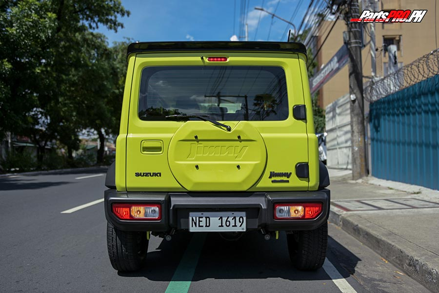 Suzuki Jimny ST Suspensions