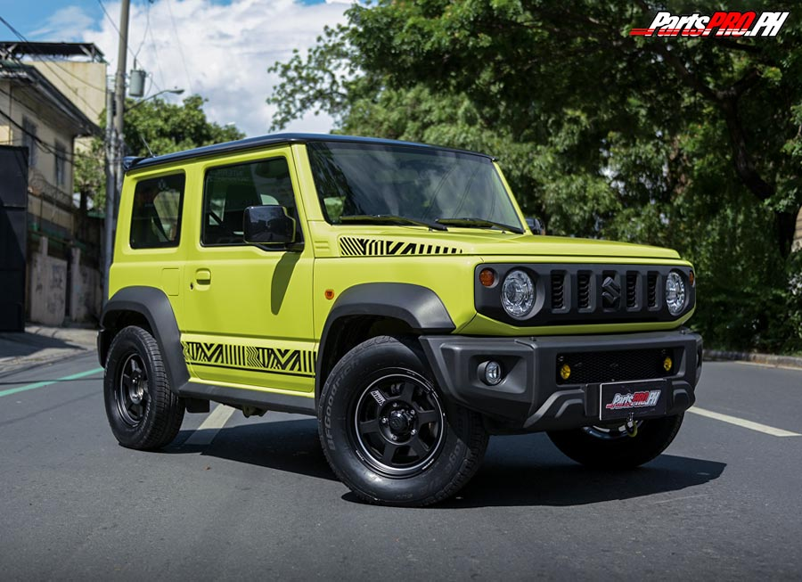 ST Suspensions PH now has adjustable coilovers for new Suzuki Jimny