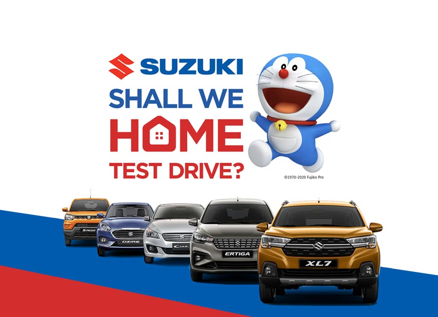 Suzuki Ph dealers will now deliver cars to your home for test drives