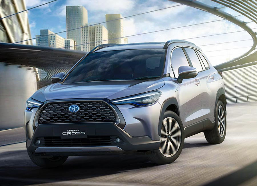 Yes, the all-new Toyota Corolla Cross 'SUV' is now on sale in the Philippines