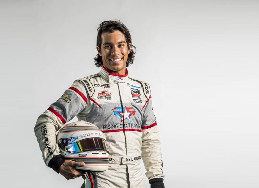 Fil-Am driver Neil Alberico all set for Lamborghini Super Trofeo debut