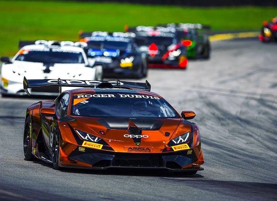 Neil Alberico show pace at VIR during Lamborghini Super Trofeo debut