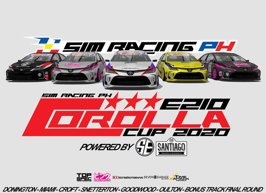 SRPh online races on a roll with new Corolla E210 Cup 2020