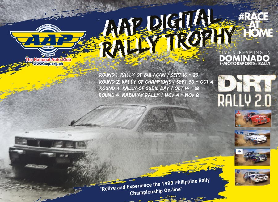 AAP Motorsport turns to eSports with home-grown Digital Rally Trophy
