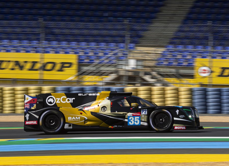 Trouble-free run yields Eurasia Motorsport 14th place at Le Mans 24 Hours
