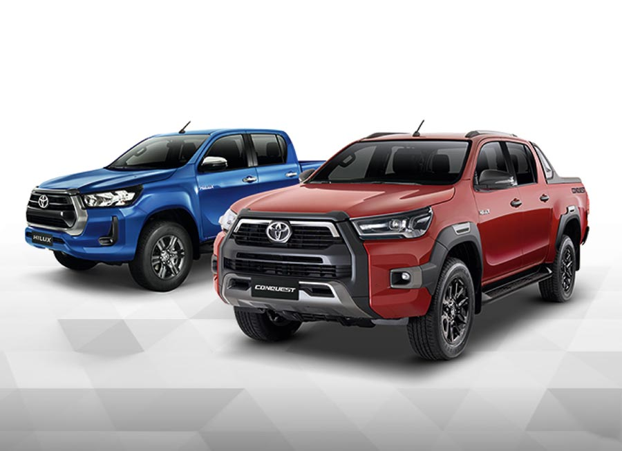 Meet the new 2020-spec Hilux & Hilux Conquest from Toyota Ph