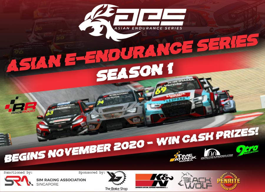 Asian Endurance Series launches online c'ship with Cash Prizes at stake