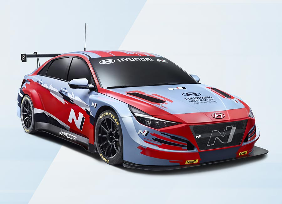 Hyundai Motorsport gets new Elantra ready for TCR-duty