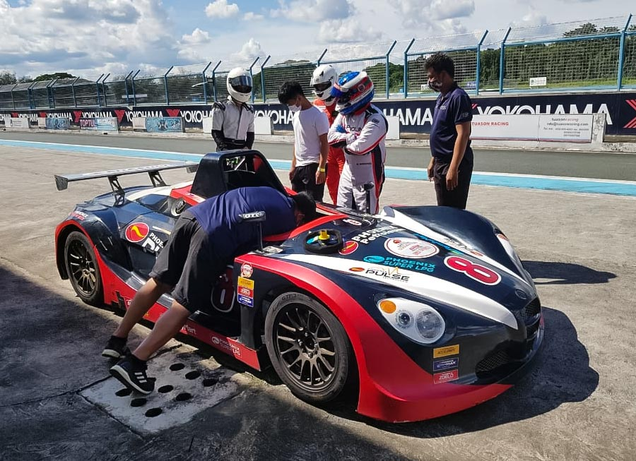 Miguel Quiñones takes next step with Formula V1 and Vios OMR test