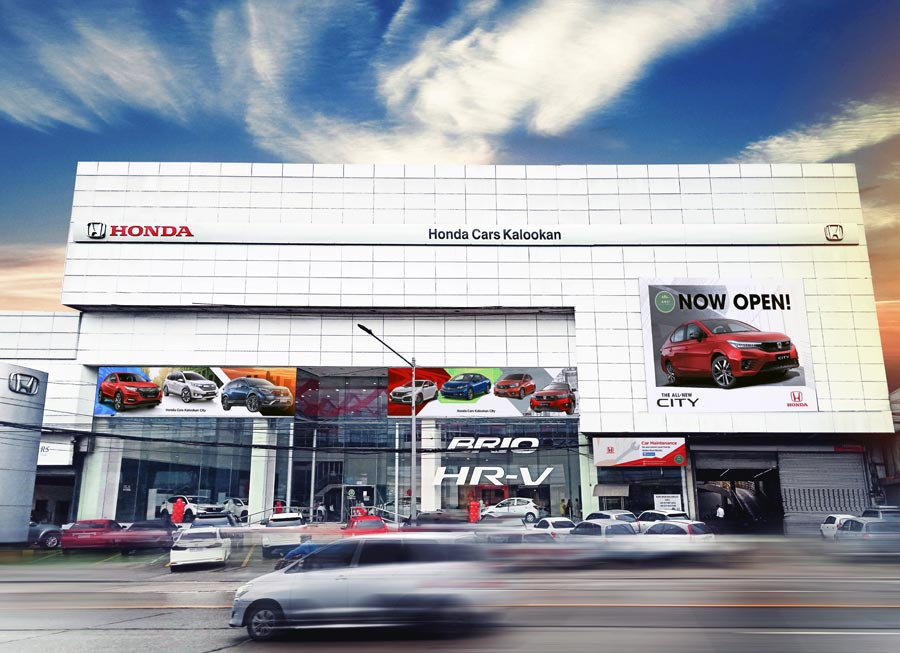 Surprise! Honda Cars Kalookan is now back in business