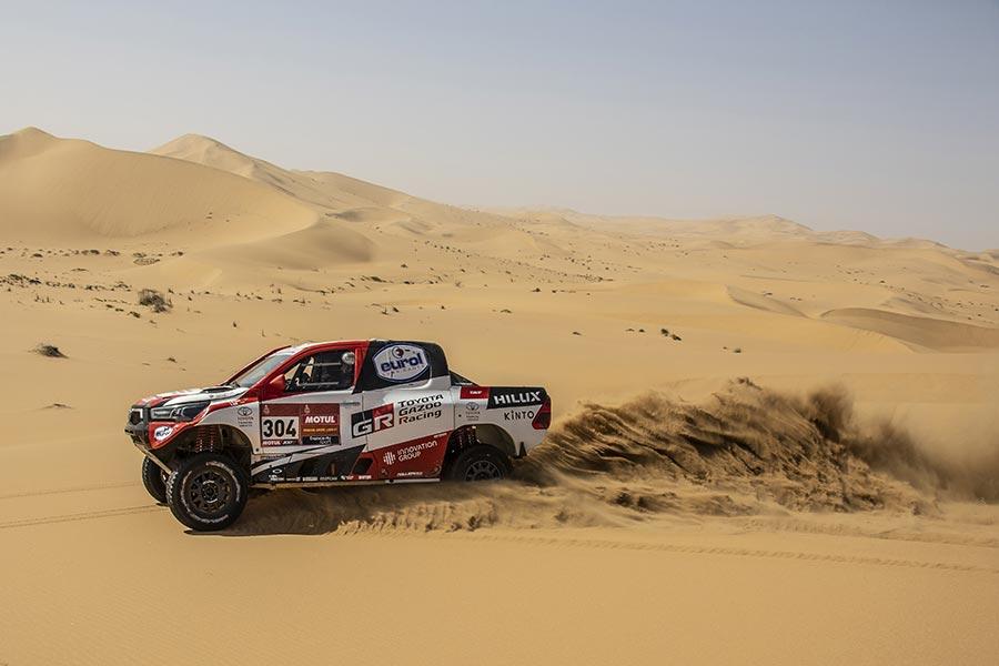 Toyota Gazoo Racing Hilux