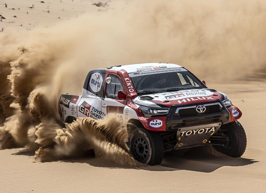 Toyota GAZOO Racing aiming for Dakar Rally victory with new 2021 Hilux