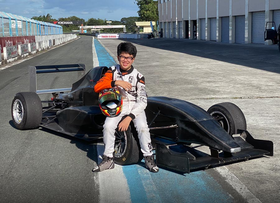 Zach David gets first taste of single seaters with test at Clark Speedway
