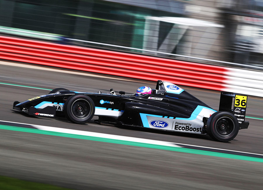 Eduardo Coseteng 3rd fastest in British F4 season launch at Silverstone