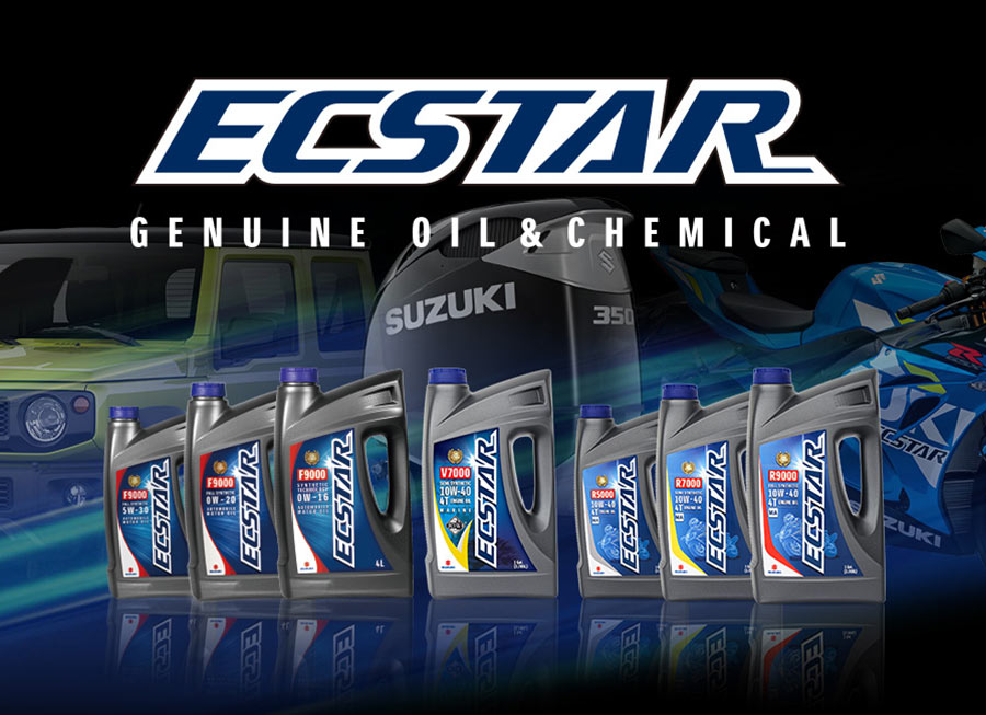 Suzuki's OEM-branded ECSTAR genuine oils now available in the Philippines